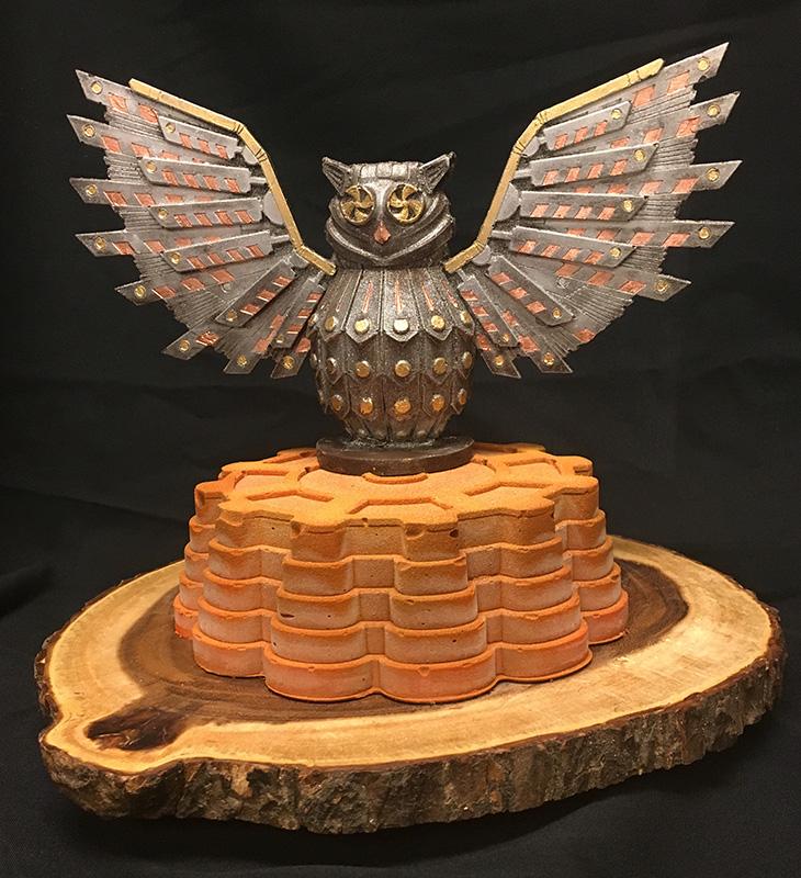 Owl Cake by Chef Stephan Schubert
