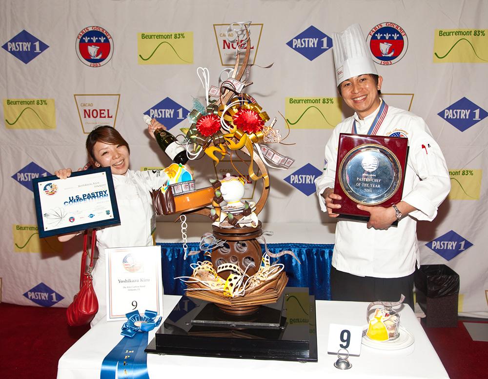 Yoshikazu Kizu Pastry Chef of the Year