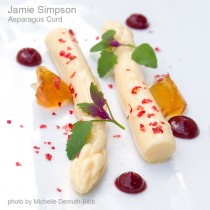 Asparagus Curd Dessert by Jamie Simpson