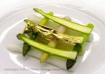 Asparagus Dessert by Laurent Gras