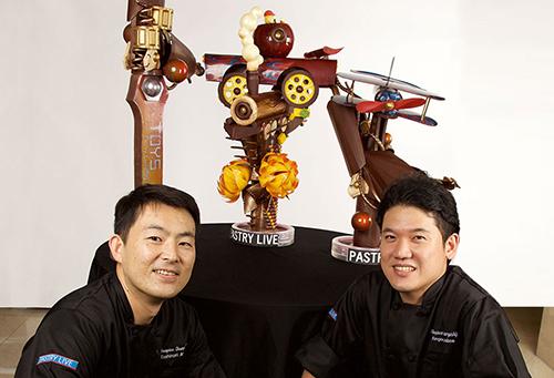 Pastry Live Champions Chefs Kengo Akabame & Toshiori Akishiro