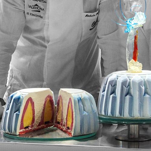 Team USA-Fire-n-Ice-Gelato-Cake