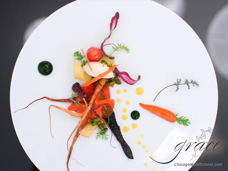 Grace - Carrot Veil Dish