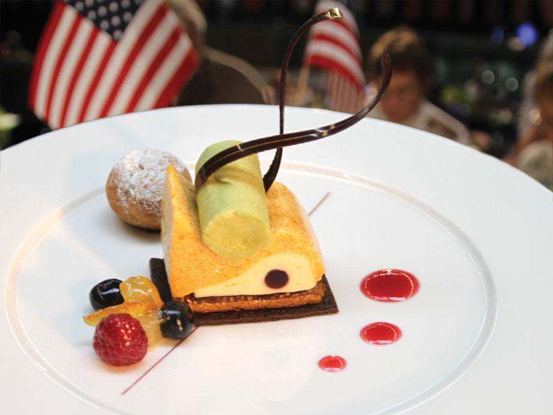 USACAT Military Dessert
