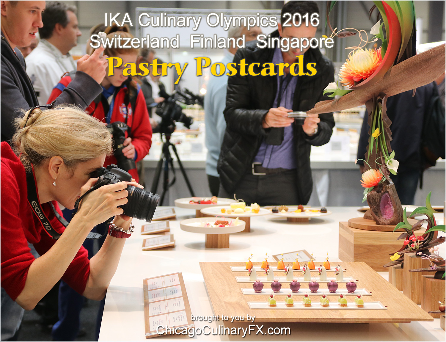 Pastry Postcards IKA