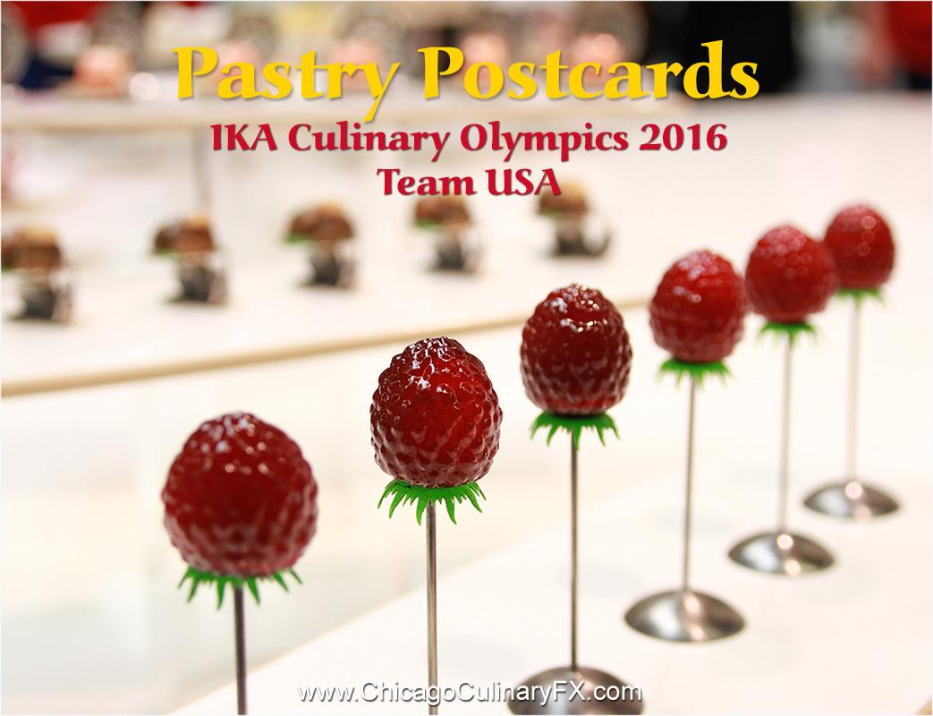 Pastry Postcards IKA Team USA