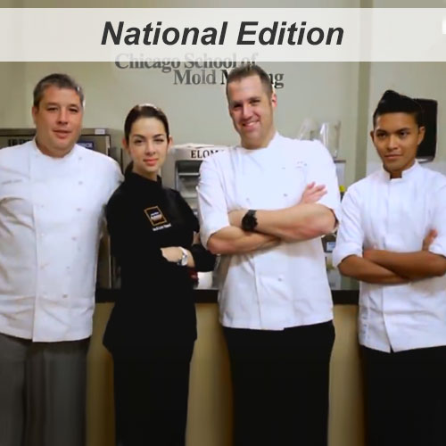 Chicago Restaurant Pastry Competition- Pastry Chefs Philip Speer, Melissa Coppel, Chris Ford, and Thomas Raquel.