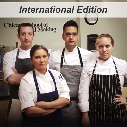 Chicago Restaurant Pastry Competition with Pastry Chefs Sean Pera, Michaela Hapak, Jim Hutchison, & Meg Galus.