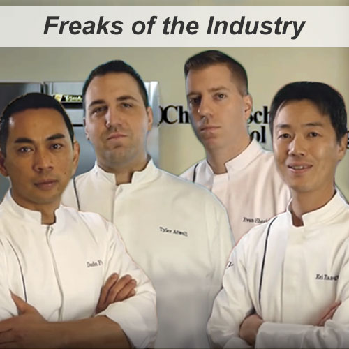 Chicago Restaurant Pastry Competition with Pastry Chefs Deden Putra, Tyler Atwell, Evan Sheridan, and Kei Hasegawa