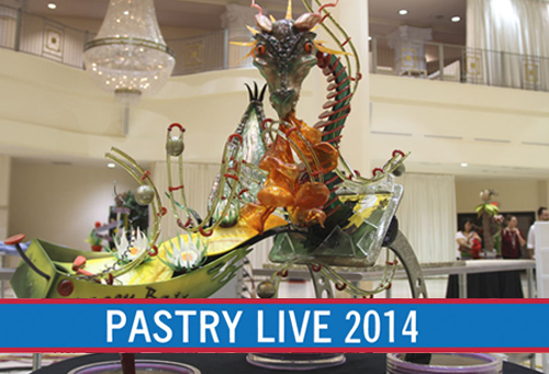 Pastry Live 2014 national showpiece championship first place dragon ball showpiece